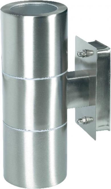 Lampă de perete de exterior, 70 W, GU10, oţel inoxidabil, Up/Down