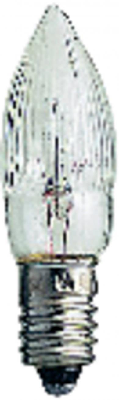 Bec tip lumânare 7V, 2.5W, 3 buc