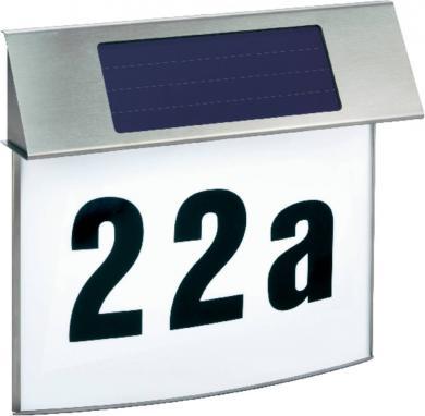 Lampă solară pentru numărul de casă Esotec Vision, inox