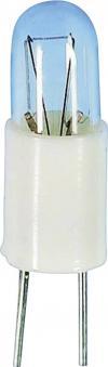 Bec incandescent pentru lampă de semnalizare, transparent, soclu BI-Pin T 1, 28 V