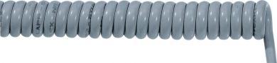 Cablu spiralat ÖLFLEX SPIRAL PUR 400 P 2 x 1 mm², min./max. 2000/6000 mm