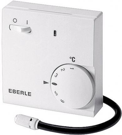 Termostat de cameră pentru încălzire prin pardoseală, montare aparentă, program zilnic, 10 la 60 °C, Eberle FR-E 525 31