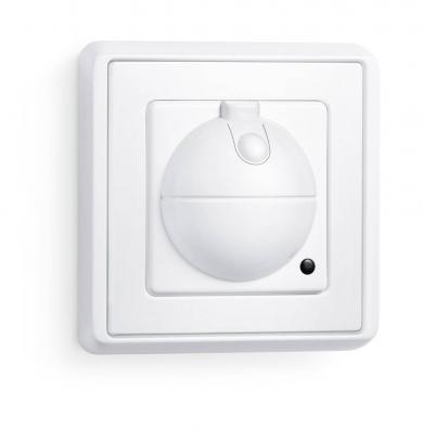 Întrerupător cu senzor de mişcare cu frecvenţe înalte Steinel, încastrat, alb
