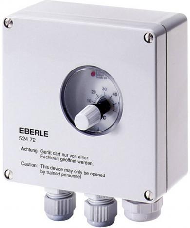 Termostat universal, montare aparentă, program zilnic, 0 la 60 °C, Eberle UTR60