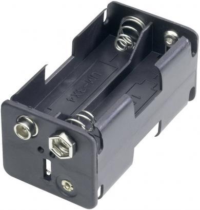 Suport pentru 4 baterii AA