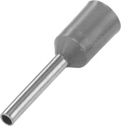 Inele de etanşare cu guler din plastic, 2,5 mm² x 8 mm, gri, Vogt Verbindungstechnik