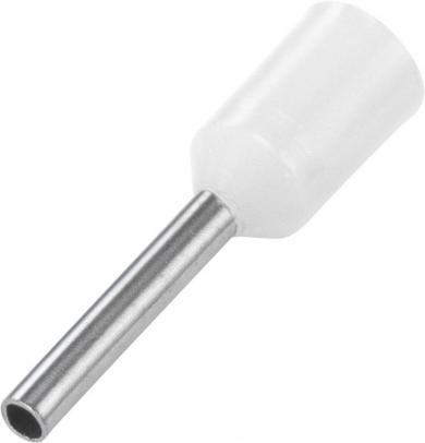 Inele de etanşare cu guler din plastic, 0,75 mm² x 8 mm, alb, Vogt Verbindungstechnik