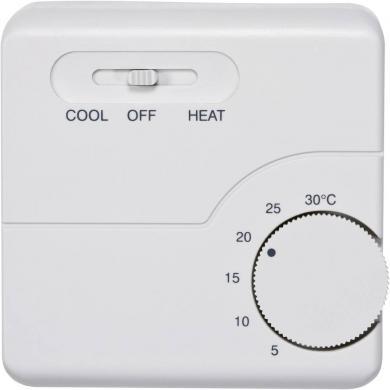 Termostat de cameră, montare aparentă, program zilnic, 5 la 30 °C