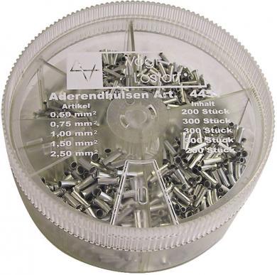 Set manşoane de izolare duo 0.5 - 2.5 mm² Vogt Verbindungstechnik