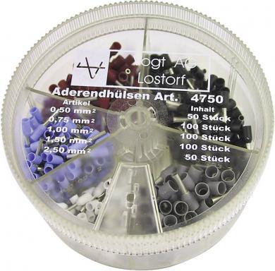 Set manşoane de izolare 0,5-2,5 mm² Vogt Verbindungstechnik