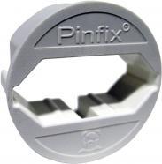 Adaptor pentru priză Pinfix, alb