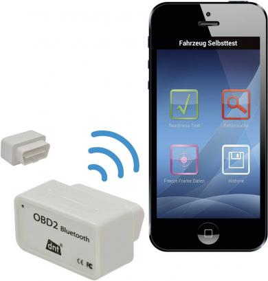 Scaner OBD cu Bluetooth dnt