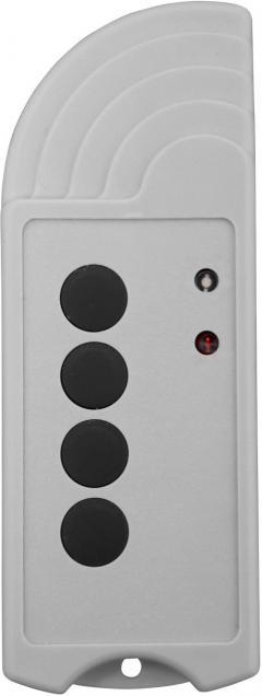 Emiţător wireless portabil 4 canale cu feedback, 1000 m, 434 MHz, SVS Nachrichtentechnik