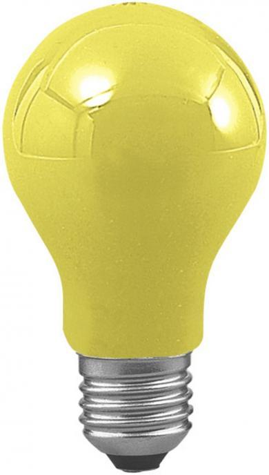 Bec incandescent special pentru ghirlande luminoase, E27, 11 W, galben