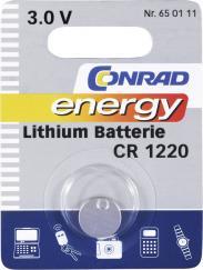 Baterie buton Li CR 1220