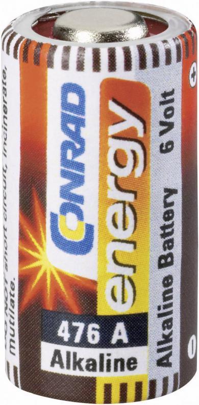 Baterie specială de voltaj mare tip 476A, 6 V, 145 mAh, Conrad energy