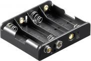 Suport pentru 4 baterii AA (L...