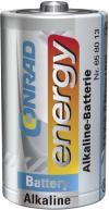 Baterie alcalină D, 1,5 V, Conrad energy