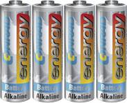 Set 4 baterii alcaline AA, 1,5...