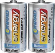 Set baterii alcaline D, 1,5 V,...