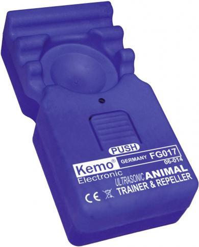 Aparat cu ultrasunete pentru alungarea animalelor şi dresaj 40 m², Kemo FG017