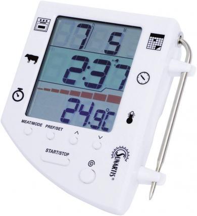 Termometru digital 3 în 1 pentru carne/cuptor