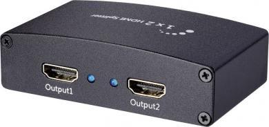 Splitter HDMI cu 2 porturi Ultra HD, SpeaKa
