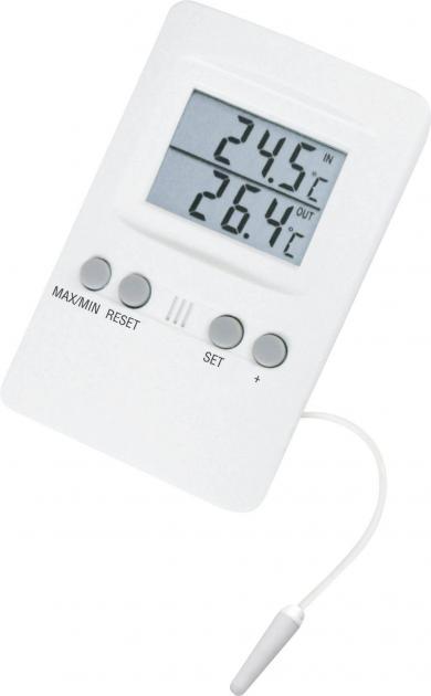 Termometru digital de interior şi exterior cu alarmă TFA 30.1024
