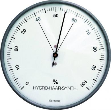 Higrometru analogic de perete, negru, 44-2003