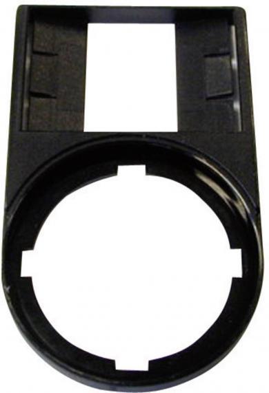 Suport pentru buton M22S-ST-X, 50 x 30 mm, negru