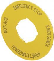 Panou de urgenţă M22-XAK1, 90 mm
