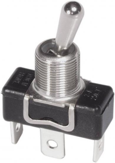 Întrerupător cu manetă metalică tip 1016, 1 x ON/ON