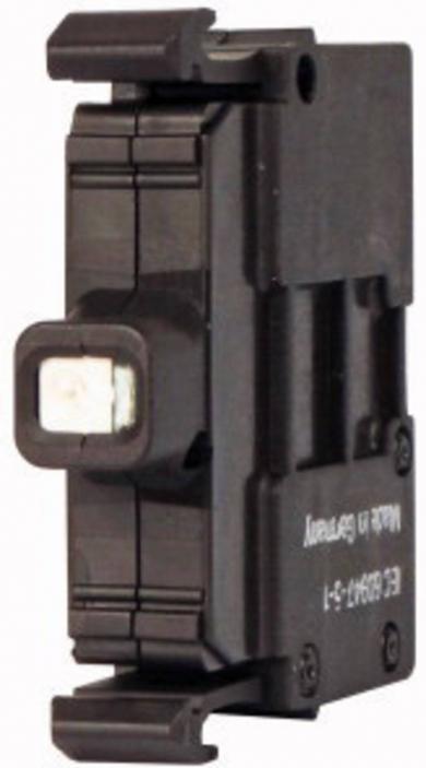Element led M22-LED230-R, 85-264 V DC/AC, fixare frontală, led roşu