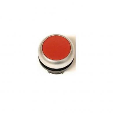 Buton plat monostabil, IP 67, 29.7 x 10 mm, fără marcare, roşu