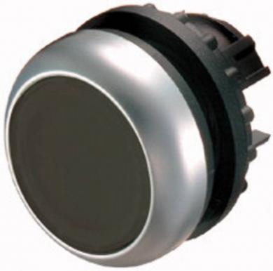 Buton plat bistabil, IP 67, 29.7 x 10 mm, fără marcare, negru