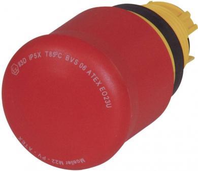 Buton de urgenţă M22-PVS, IP 66, 29,7 x 47,9 mm, fără iluminare, deblocare prin cheie