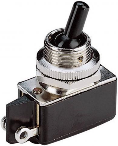Întrerupător basculant, seria 0101.0401 1 x ON/ON 250 V/AC 2 A