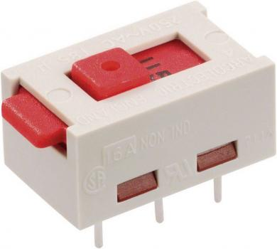 Selector de tensiune Arcolectric, 2 x ON/ON 250 V/AC 6 (3) A