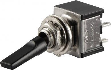Întrerupător basculant SCI, 6 A TA201G1 2 x ON/OFF 250 V/AC 3 A