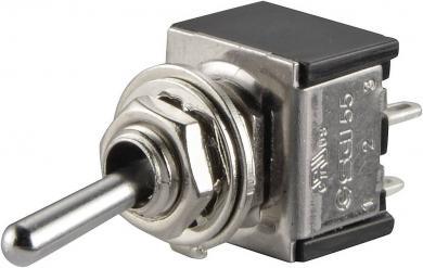 Întrerupător basculant SCI, 6 A TA201A1 2 x ON/OFF 250 V/AC 3 A