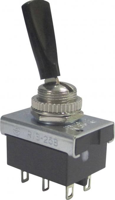 Întrerupător basculant SCI , 10 A R13-25B1-05 2 x ON/ON 250 V/AC 6 A
