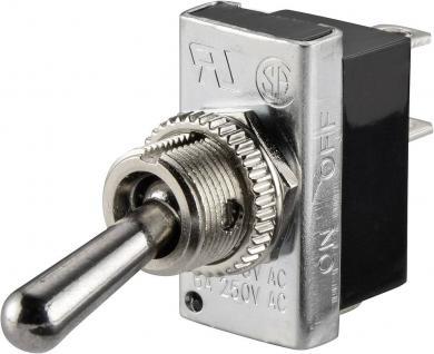 Întrerupător basculant SCI , 10 A R13-25A2-05 1 x ON/OFF 250 V/AC 6 A