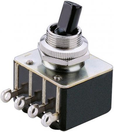 Întrerupător basculant, seria 0133.0101 2 x ON/ON 250 V/AC 2 A