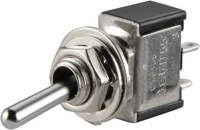Întrerupător basculant SCI, 6 A TA102F1 1 x ON/ON 250 V/AC 3 A
