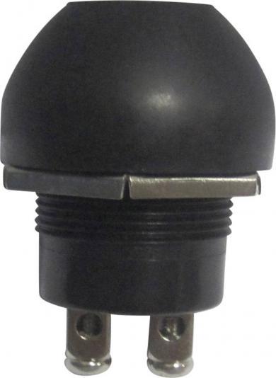 Întrerupător auto acţionat prin apăsare A2-5B, OFF/(ON), 10 A, 24 V/DC, Ø montare 22.2 mm