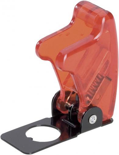 Capişon de protecţie SCI, R17-10B  roşu transparent