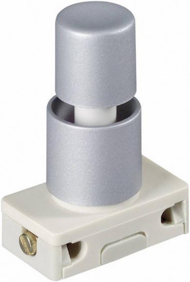 Întrerupător cu buton special, pentru încastrare, 3030-611.81 1 x ON/OFF 250 V/AC 2 (1) A