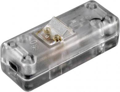Întrerupător intermediar pe cablu interBär, 10 A, 2 poli, 10 (4) A/250 V/AC