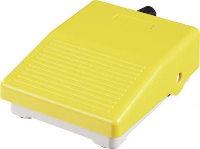 Mini-întrerupător de picior IPM2Y, 3 A / 250 V/AC, IP40, galben