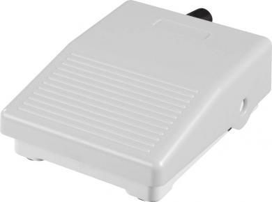 Mini-întrerupător de picior IPM2G, 3 A / 250 V/AC, IP40, gri